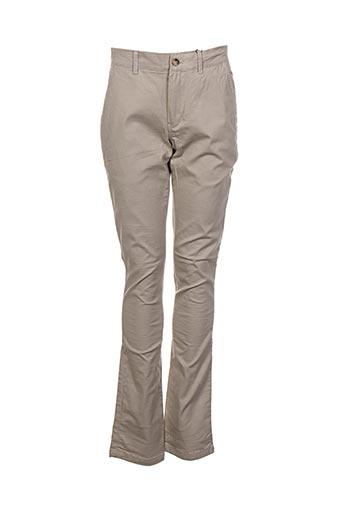 Pantalon casual gris ARISTOW pour homme