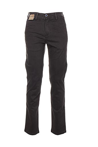 Pantalon casual gris BLUE SIDE pour homme