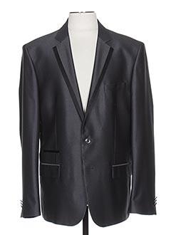 Veste chic / Blazer gris GRIFFE NOIRE pour homme