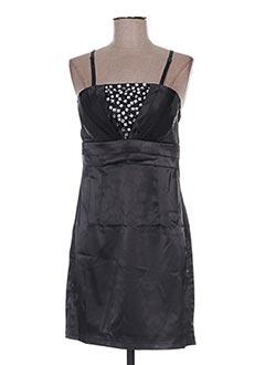 Robe courte noir GOLDEN DAYS pour femme