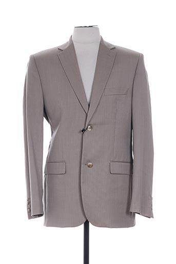 lucas delli vestes homme de couleur beige