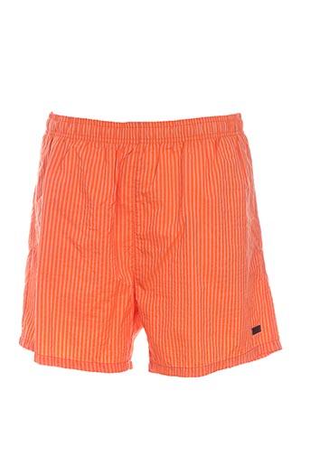 hugo boss maillots de bain homme de couleur orange