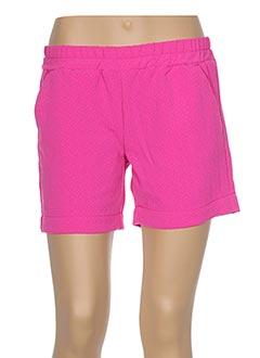Produit-Shorts / Bermudas-Femme-CKS