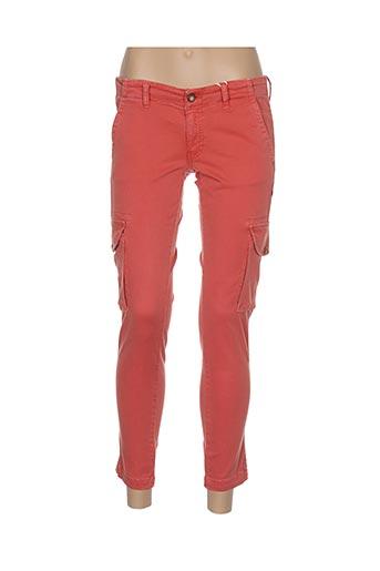 Pantalon 7/8 orange AVIDA DOLLARS pour femme