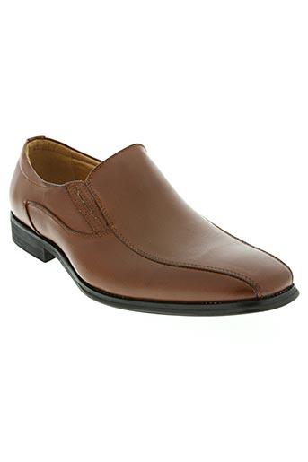 style italy chaussures homme de couleur marron