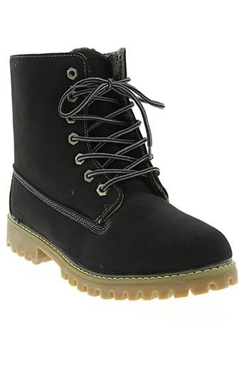 t.p.t shoes chaussures homme de couleur noir