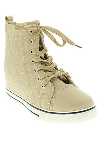 love chaussures femme de couleur beige