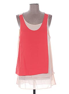 Top rouge ANGELTYE pour femme