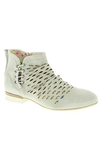dkode chaussures femme de couleur gris