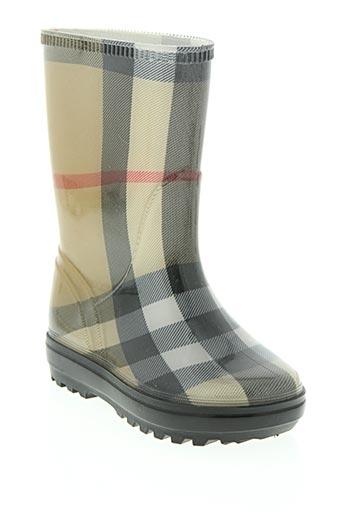 burberry chaussures garçon de couleur beige