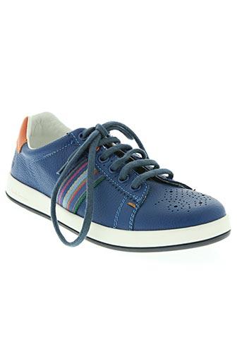 paul smith chaussures garçon de couleur bleu