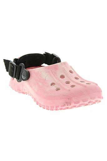 birki's chaussures fille de couleur rose