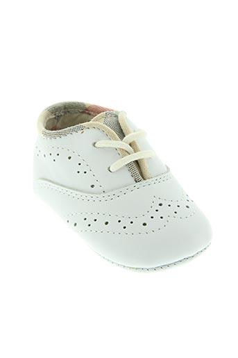 burberry chaussures enfant de couleur blanc