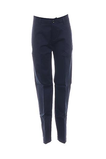 Pantalon chic bleu BURBERRY pour garçon