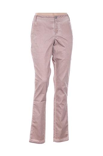 nü pantalons femme de couleur rose