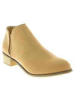 Bottines/Boots beige TIFFOSI pour femme