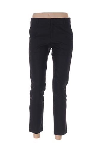 chattawak pantalons femme de couleur noir