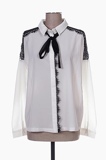 chattawak chemises femme de couleur blanc