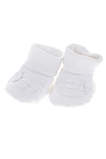 absorba chaussures fille de couleur blanc