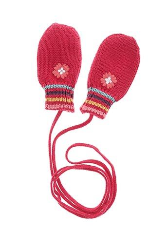 Gants rouge CATIMINI pour fille