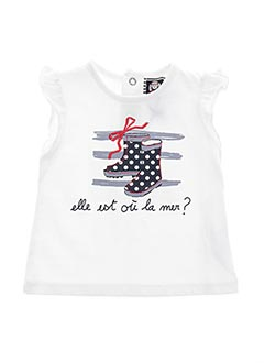 Produit-T-shirts-Fille-ELLE EST OU LA MER