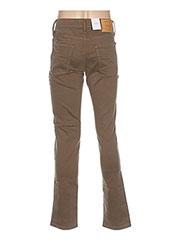 Pantalon casual marron JACK & JONES pour homme seconde vue