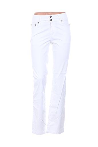 Pantalon casual blanc D.T.C pour femme