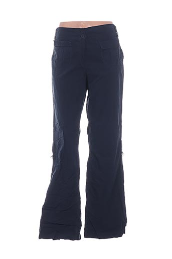 Pantalon casual bleu D.T.C pour femme