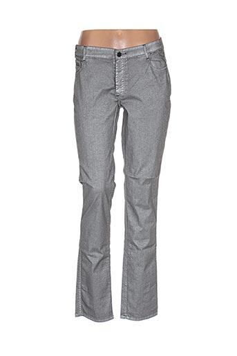 Pantalon casual gris BAKER BRIDGE pour femme