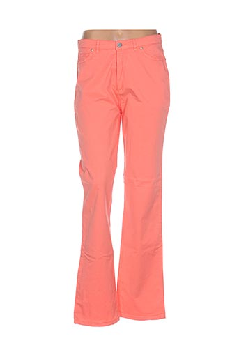 Pantalon casual orange IMAGE pour femme
