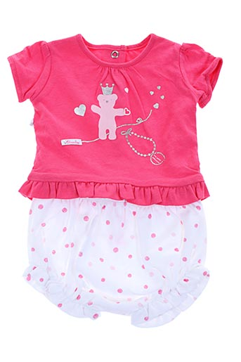Top/short rose ABSORBA pour fille