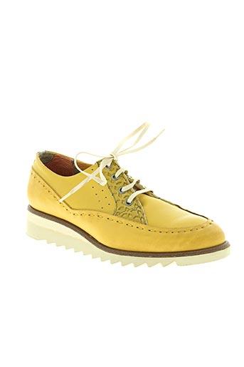 dkode chaussures femme de couleur jaune