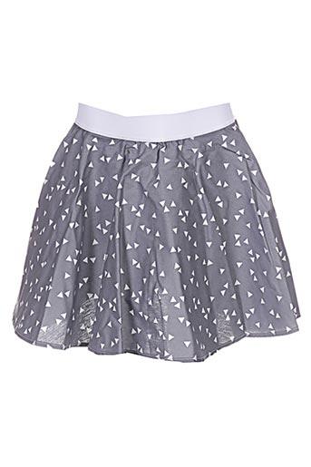 Jupe courte gris APHELIOTE pour fille