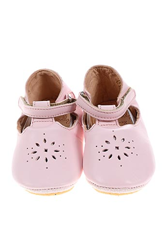 easy peasy chaussures fille de couleur rose