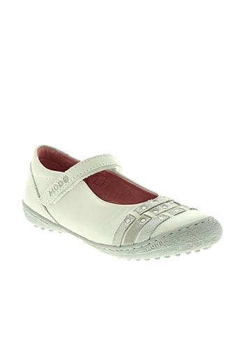bana & co chaussures fille de couleur beige