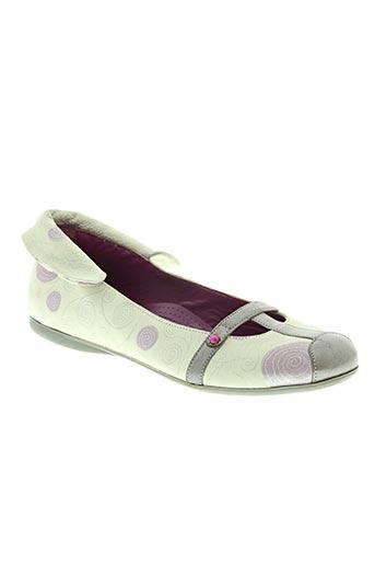 rondinella chaussures fille de couleur beige