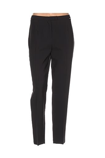 Pantalon chic noir ARTIGLI pour femme