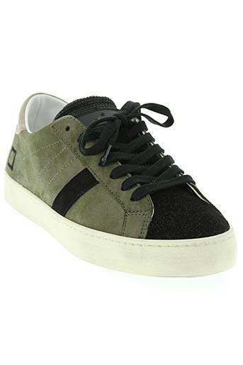 date chaussures femme de couleur vert