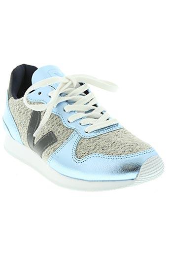veja chaussures femme de couleur bleu