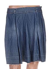 Jupe courte bleu BETWEEN pour femme seconde vue