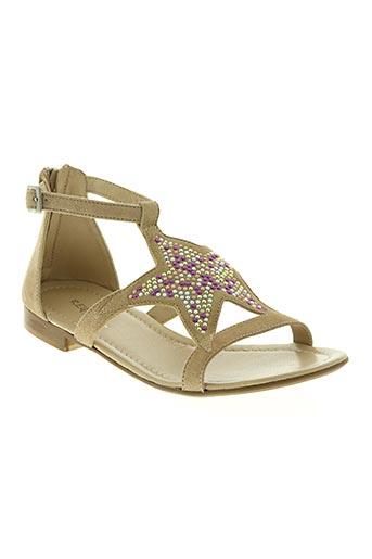samoa chaussures femme de couleur beige