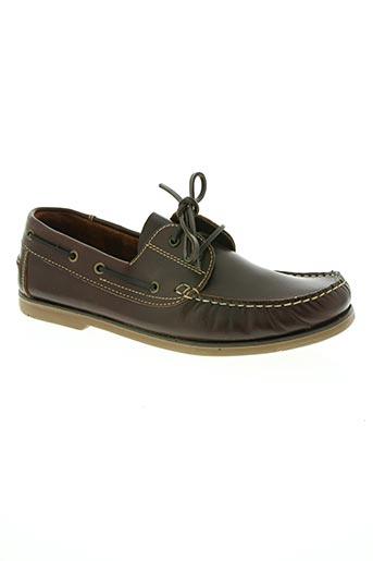 hidalgo chaussures homme de couleur marron