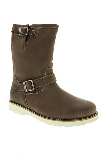 panama jack chaussures homme de couleur marron