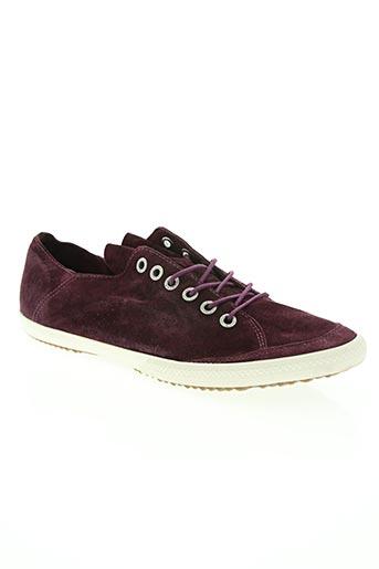 groundfive chaussures homme de couleur violet