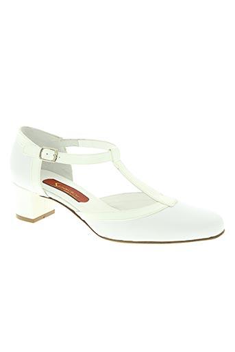 spador chaussures femme de couleur blanc