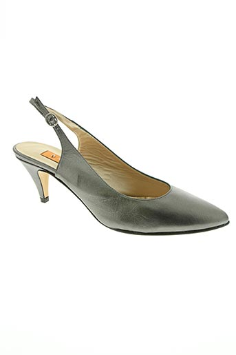 anna volodia chaussures femme de couleur gris