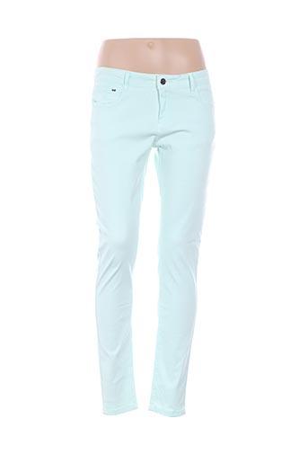 Pantalon casual vert MKT STUDIO pour femme