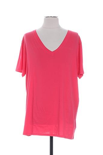 T-shirt manches courtes rose COLMAR pour homme