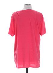 T-shirt manches courtes rose COLMAR pour homme seconde vue