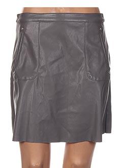 Jupe courte gris VILA pour femme